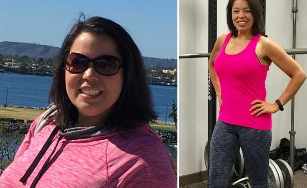 Betsy before and after Fit Camp Personal Training